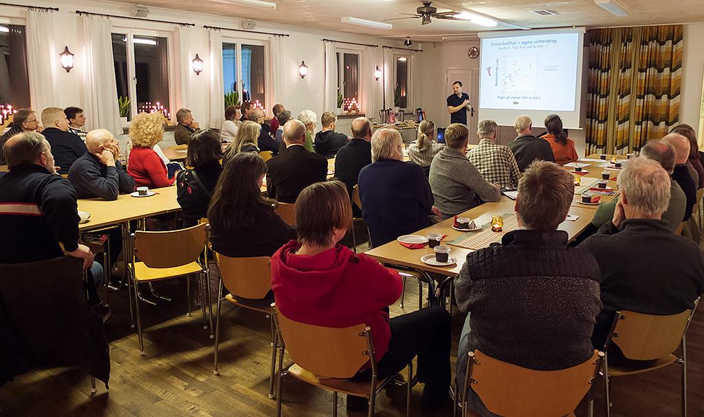 Startmötet för Kvesarumsåns vattendragsgrupp. Foto: Richard Nilsson