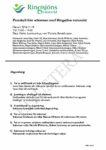Protokoll från Ringsjöns vattenråds höststämma 18/11 2016