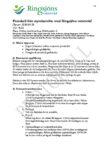 Protokoll från styrelsemöte med Ringsjöns vattenråd 2020-05-28