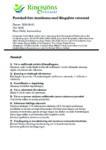 Protokoll från Ringsjöns vattenråds årsstämma 3/9 2020