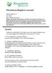 Protokoll från Ringsjöns vattenråds höststämma 17/12 2020